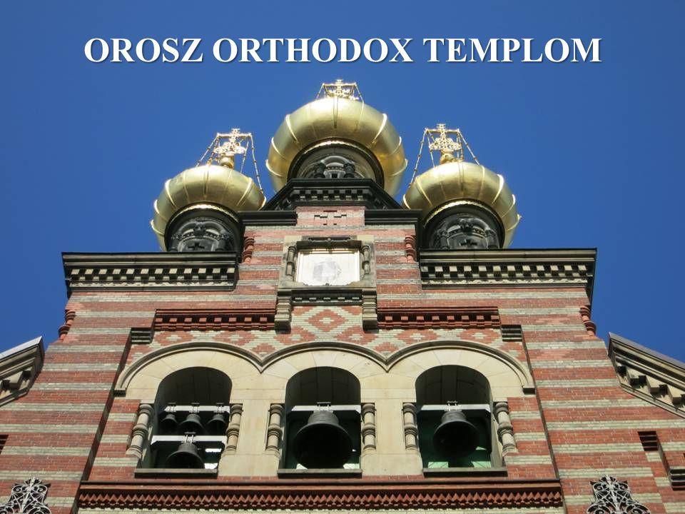 OROSZ ORTHODOX TEMPLOM