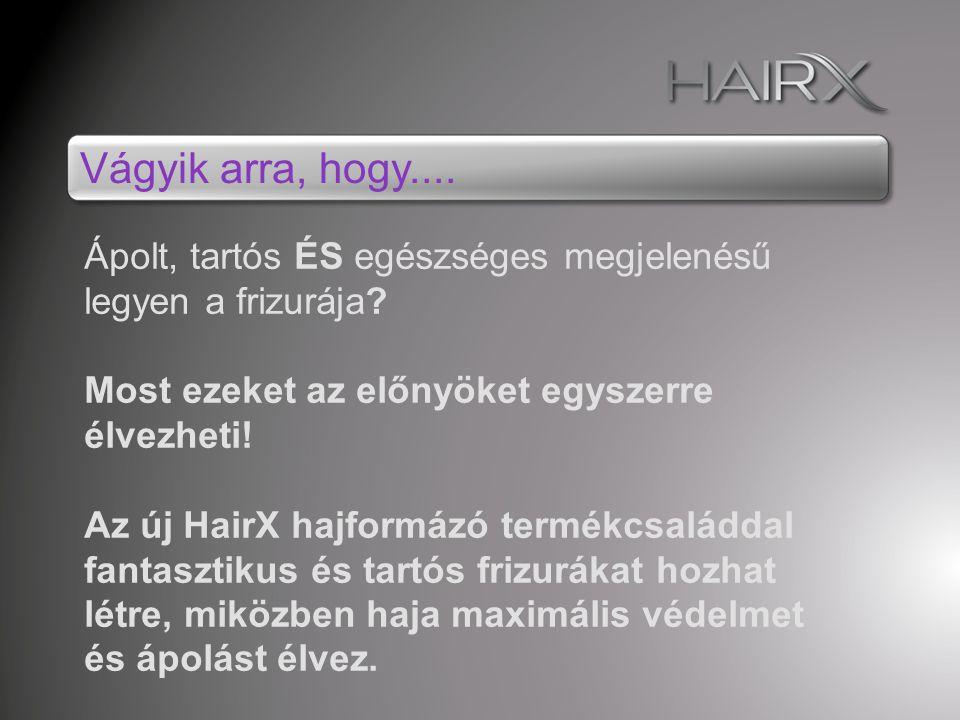 Hajápoló hajformázók