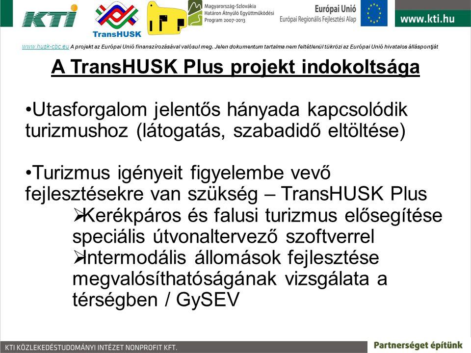 www.husk-cbc.euwww.husk-cbc.eu A projekt az Európai Unió finanszírozásával valósul meg. Jelen dokumentum tartalma nem feltétlenül tükrözi az Európai U