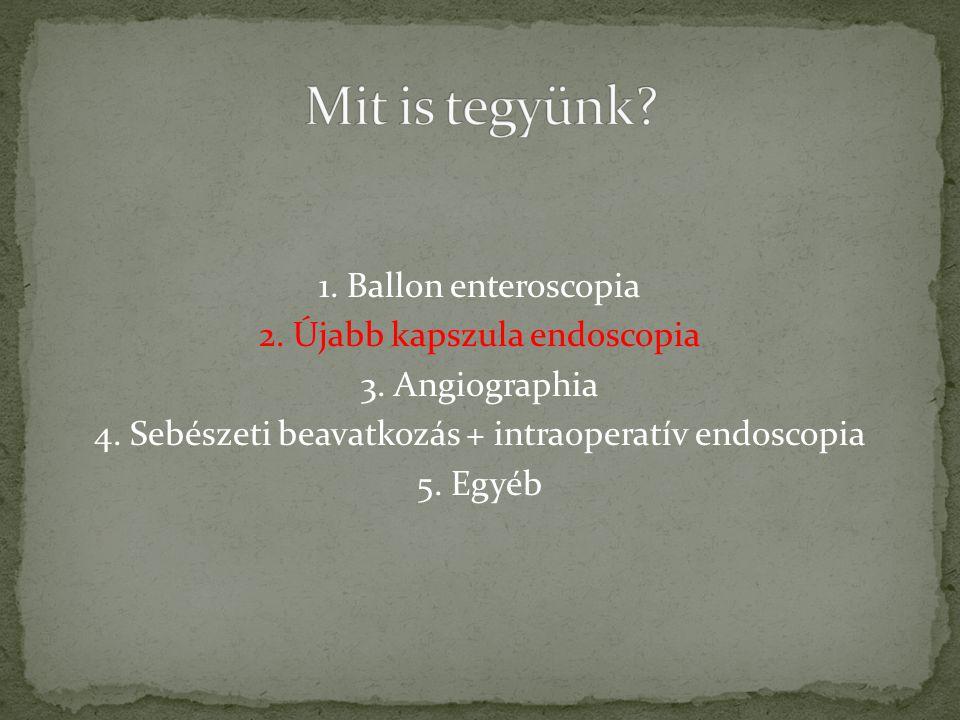 Újabb kapszula endoscopia!DE!.Tájékozódás az OEP-nél a 2.