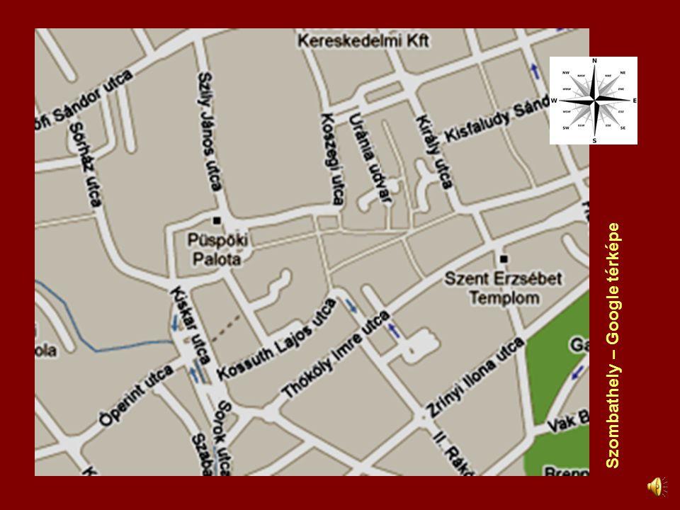 Szombathely – Google térképe