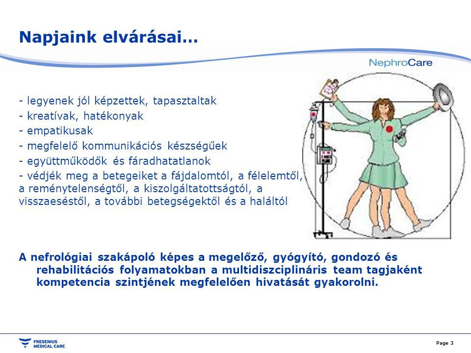 A PD-team felépítése Az ideális betegellátás alapja a team összehangolt együttműködése.
