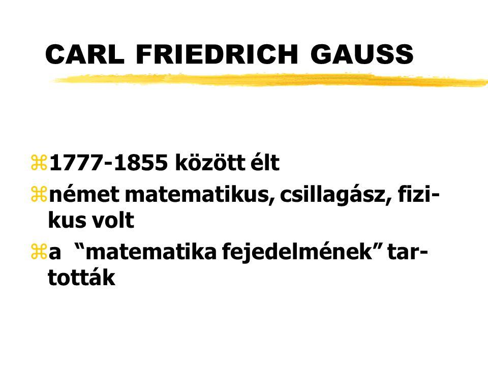 FÜGGVÉNYÁBRÁZOLÁS GAUSS-FÉLE HARANG-GÖRBE