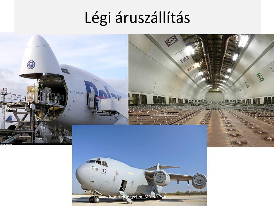 Légi áruszállítás Debreceni Egyetem Műszaki Kar