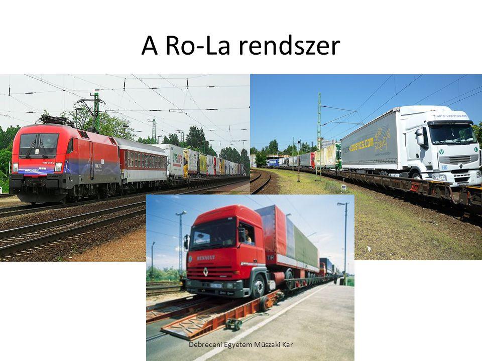 A Ro-La rendszer Debreceni Egyetem Műszaki Kar