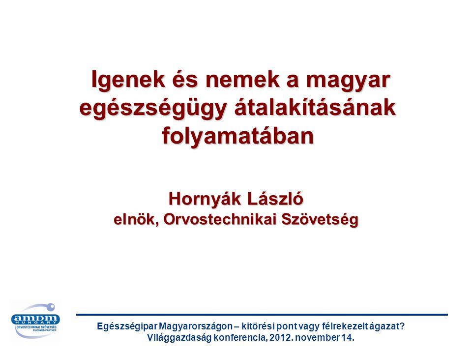 Egészségipar Magyarországon – kitörési pont vagy félrekezelt ágazat.