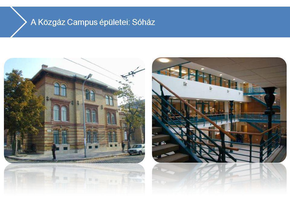 Gazdálkodástudományi Kar 5. A Közgáz Campus épületei: C épület