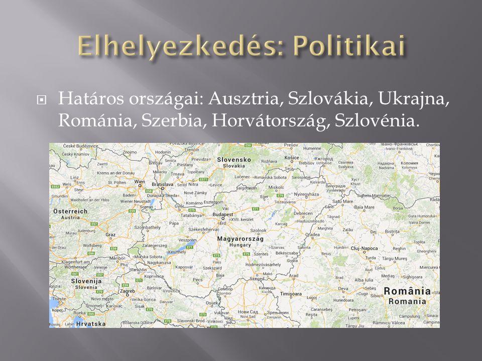  Magyarország egy túlnyomórészt alföldi ország.
