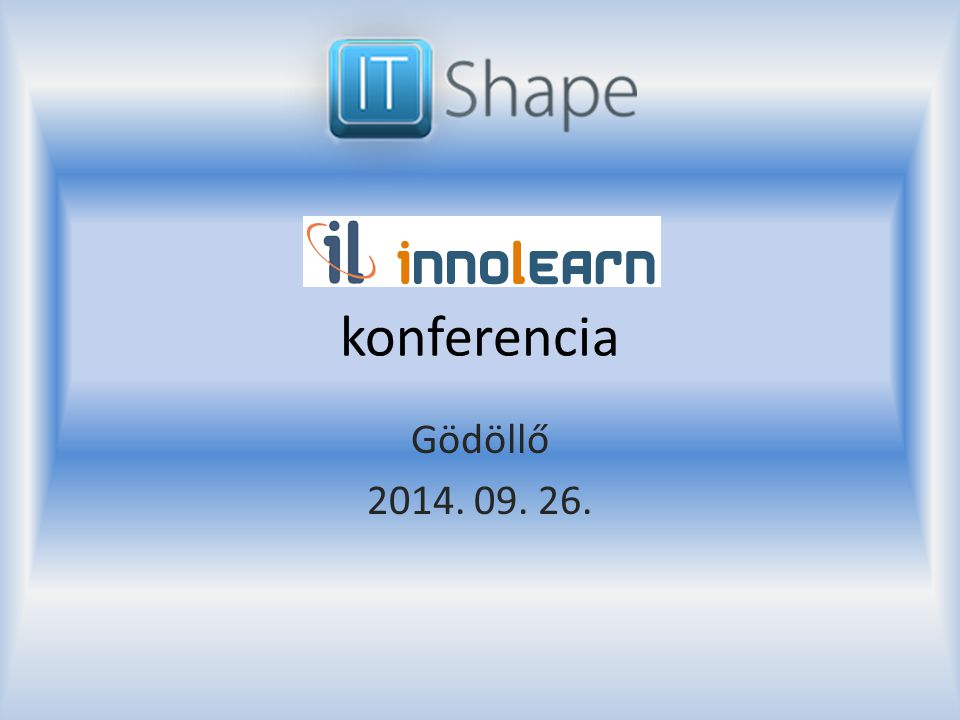 konferencia Gödöllő 2014. 09. 26.
