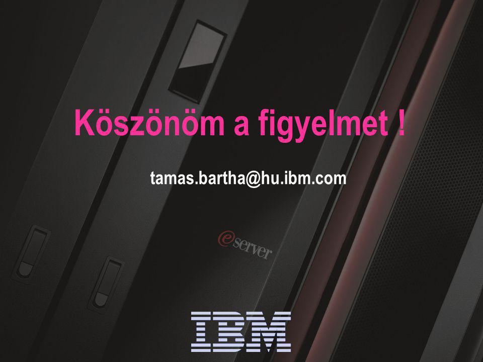 IBM Software Group | WebSphere software 55 Köszönöm a figyelmet ! tamas.bartha@hu.ibm.com