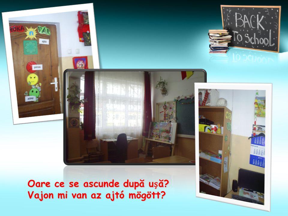 La coală sunt i jucării!? Hát játékok is vannak az iskolában!?