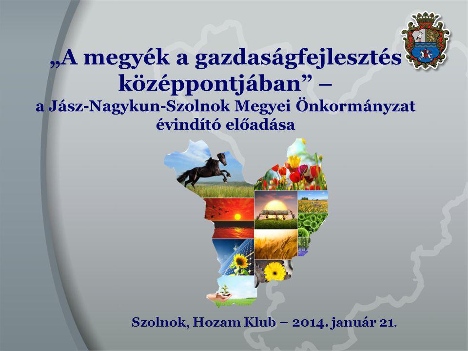 Egyéb feladatok Turizmus Jász-Nagykun-Szolnok megyében 2013.
