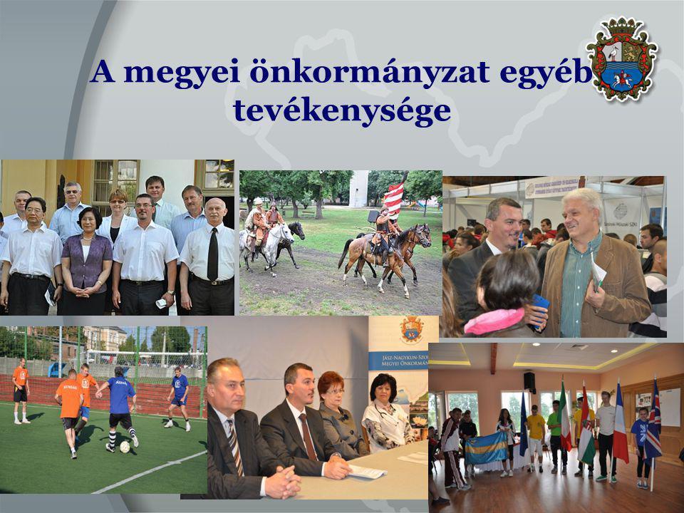 A megyei önkormányzat egyéb tevékenysége