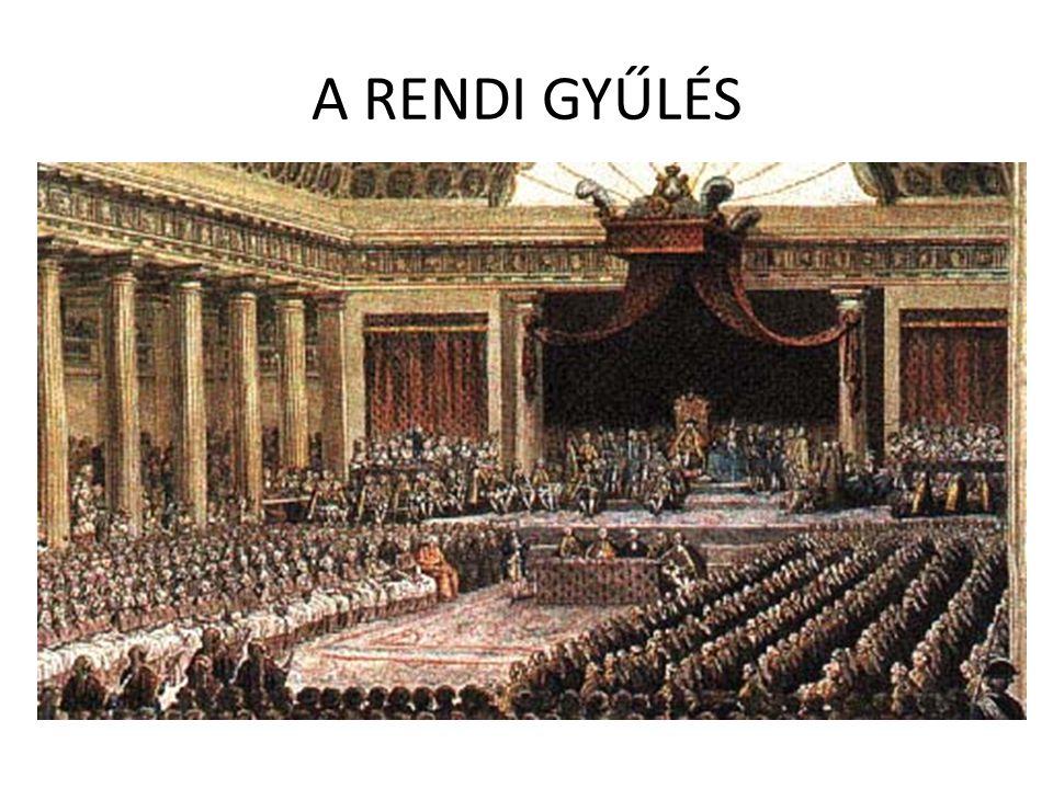 A RENDI GYŰLÉS