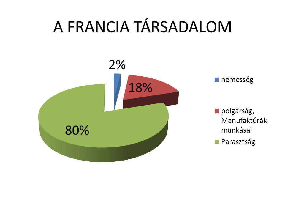 A FRANCIA TÁRSADALOM