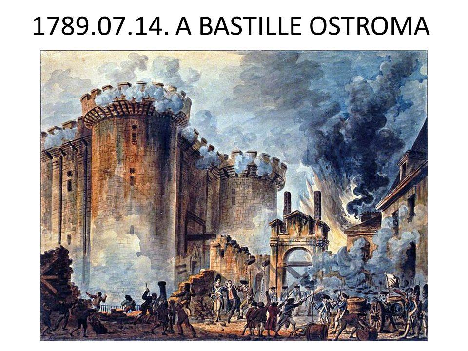 1789.07.14. A BASTILLE OSTROMA