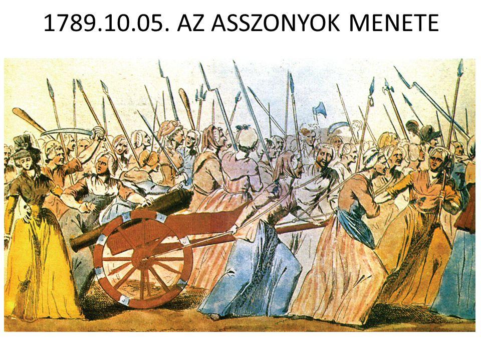 1789.10.05. AZ ASSZONYOK MENETE