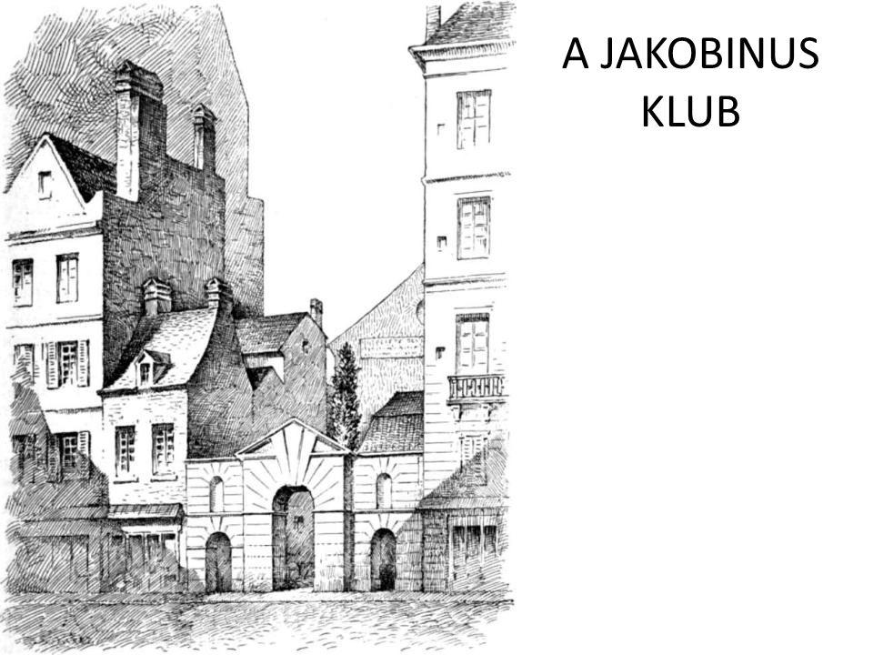 A JAKOBINUS KLUB