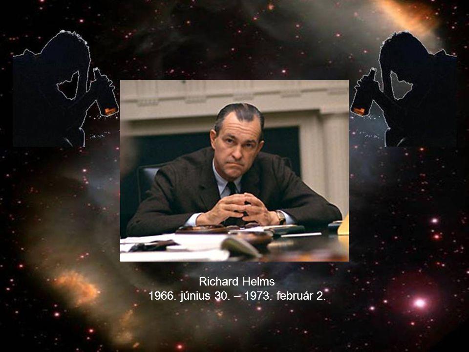 Richard Helms 1966. június 30. – 1973. február 2.