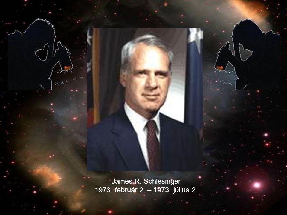 James R. Schlesinger 1973. február 2. – 1973. július 2.