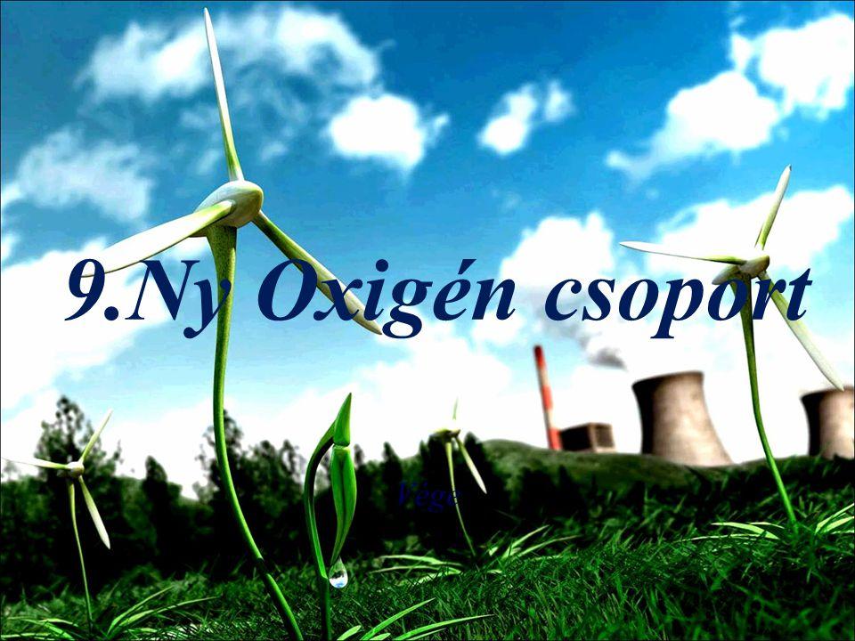 9.Ny Oxigén csoport Vége