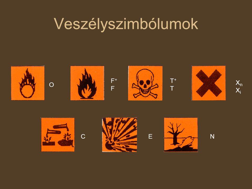 Címke az anyag kereskedelmi neve mennyiségeösszetevők, veszélyes anyag% a veszély jelképe és jeleR és S számok, mondatok (lakosság) magyar azonosító szám gyártó, forgalmazó neve, címe A címke nem pótolja sem a Biztonsági adatlapot, sem a használati utasítást!!!!!!!!.
