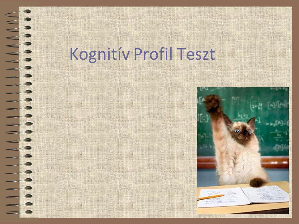Kognitív Profil Teszt
