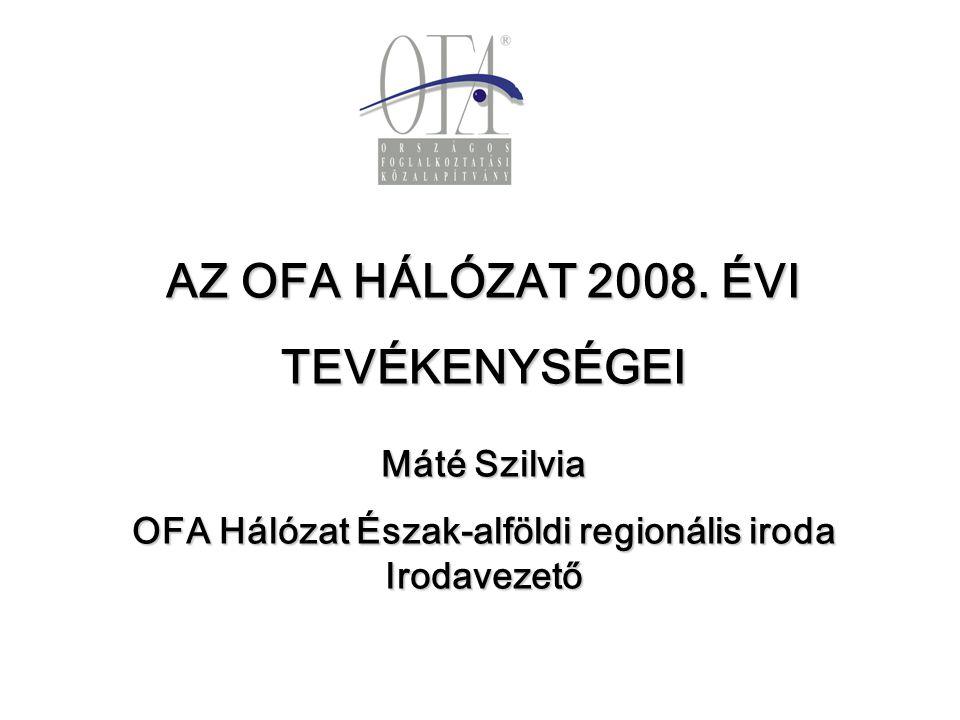 AZ OFA HÁLÓZAT 2008.