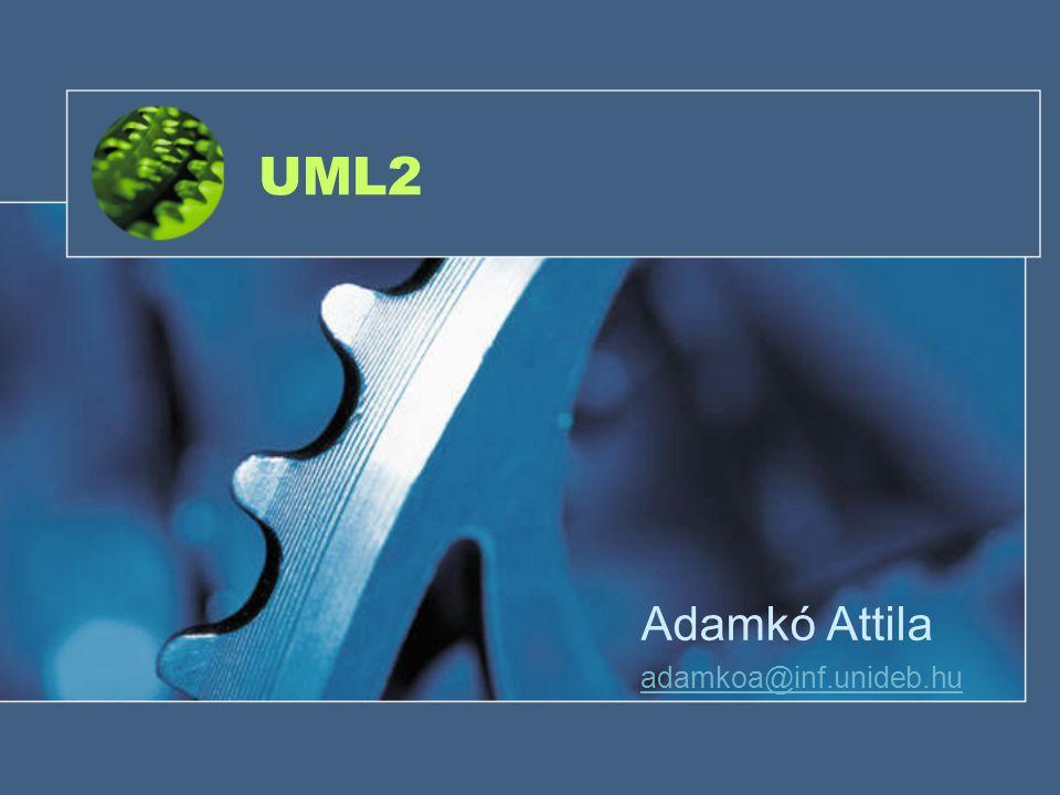 UML2 Adamkó Attila adamkoa@inf.unideb.hu