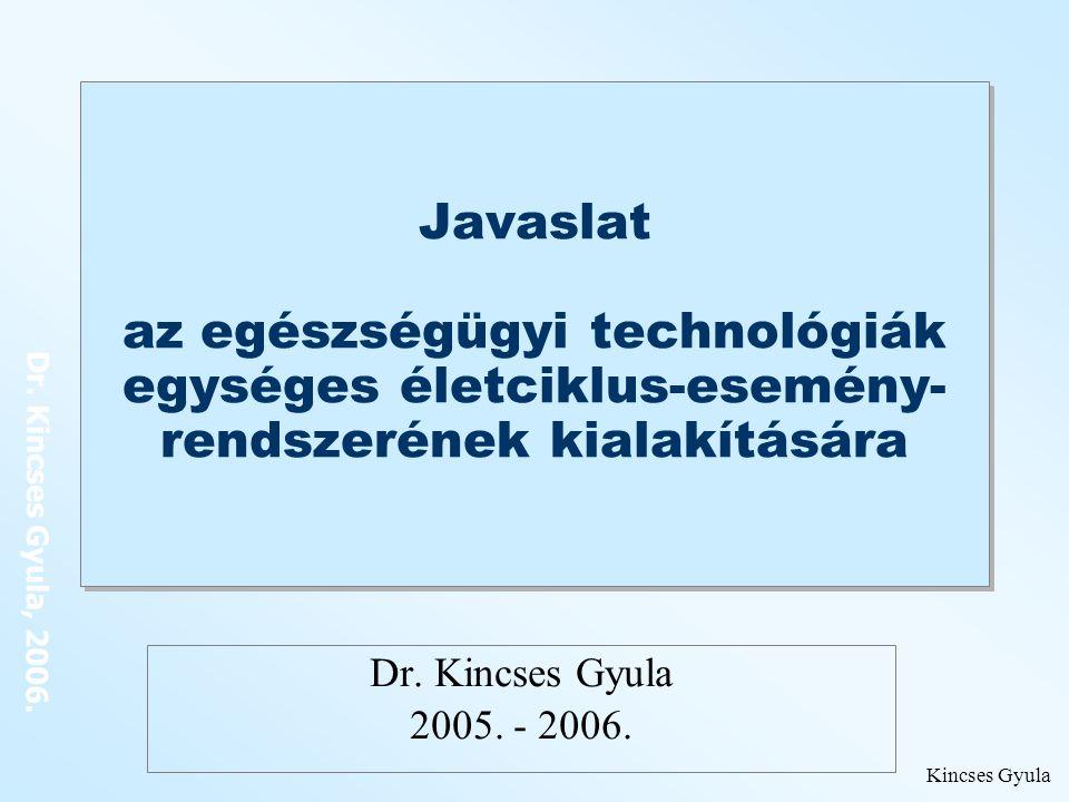 Dr.Kincses Gyula, 2006.