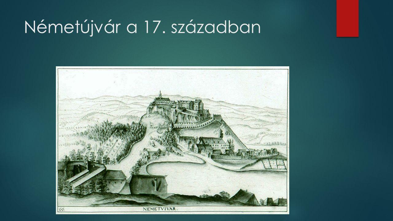 Németújvár a 17. században