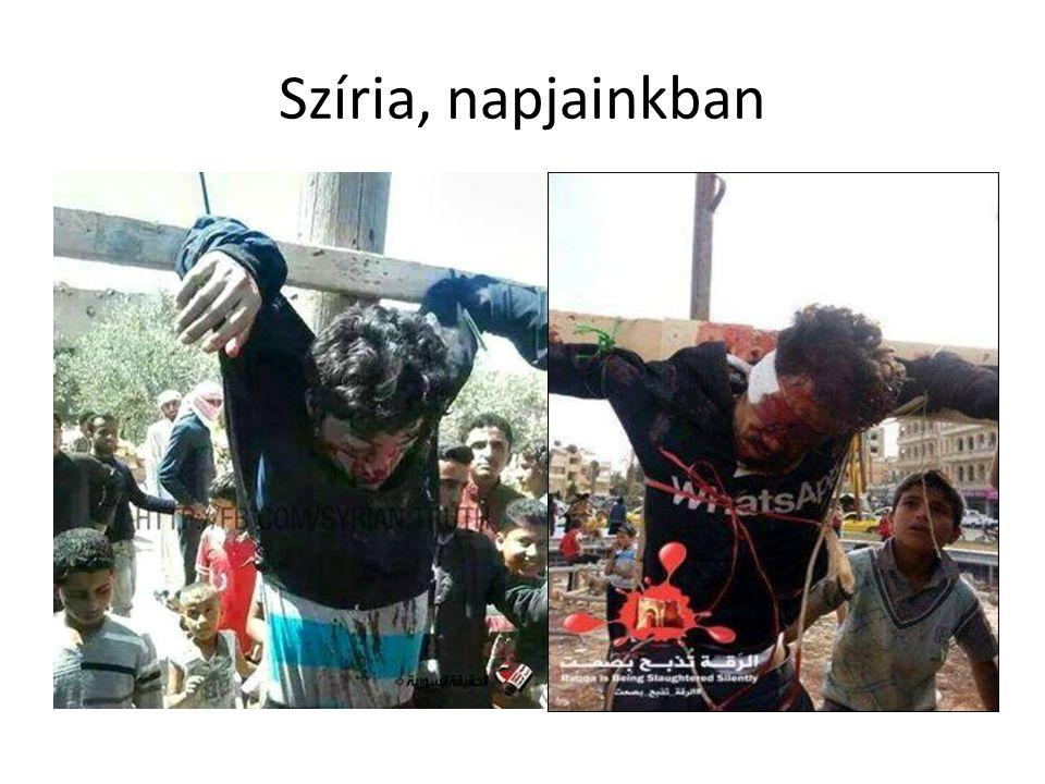 Szíria, napjainkban