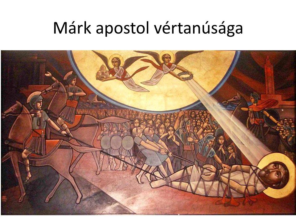 Márk apostol vértanúsága