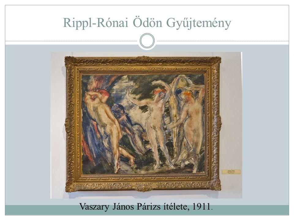 Rippl-Rónai Ödön Gyűjtemény Vaszary János Párizs ítélete, 1911.