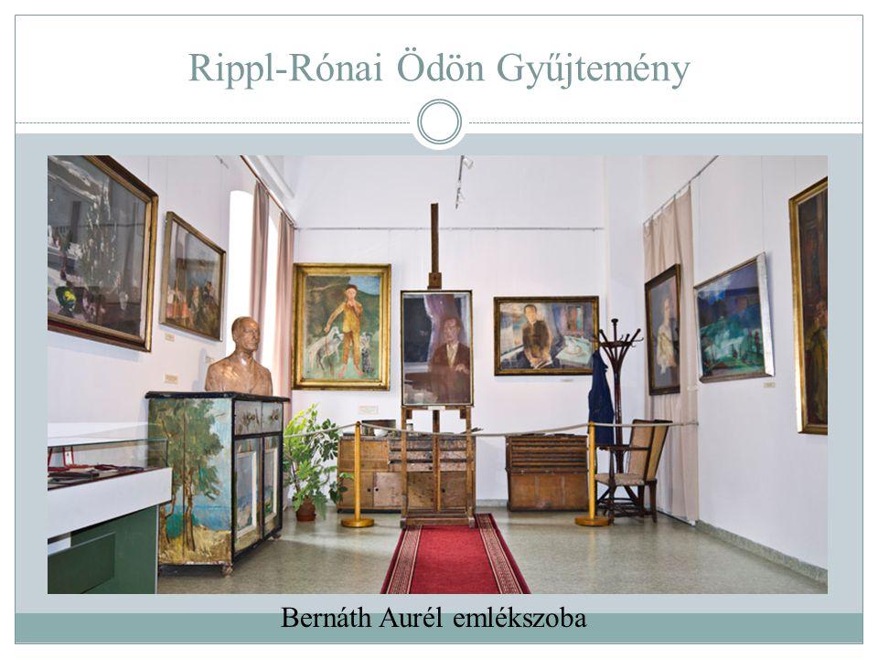 Rippl-Rónai Ödön Gyűjtemény Bernáth Aurél emlékszoba