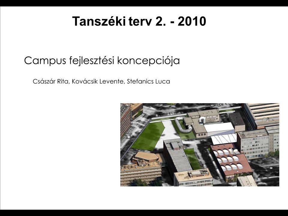 Tanszéki terv 2. - 2010