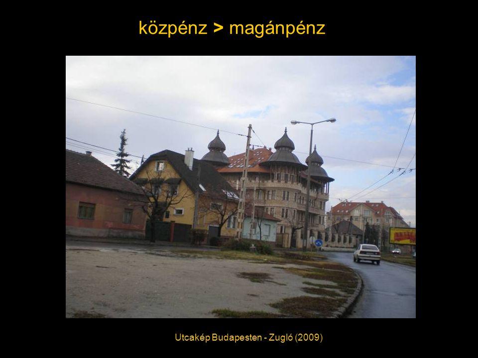 közpénz > magánpénz Utcakép Budapesten - Zugló (2009)