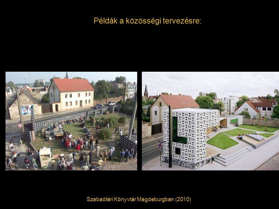 Példák a közösségi tervezésre: Szabadtéri Könyvtár Magdeburgban (2010)