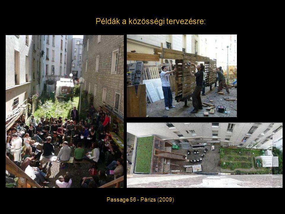 Példák a közösségi tervezésre: Passage 56 - Párizs (2009)