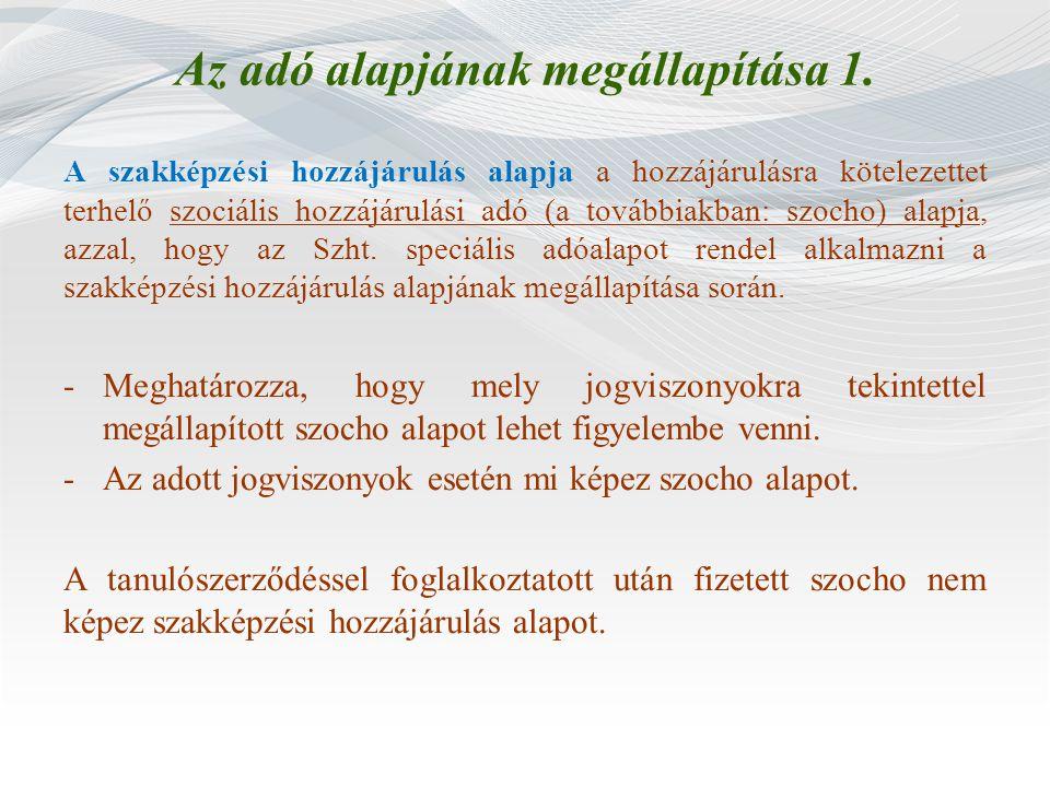 Gyakorlati képzési normatíva meghatározása 6.