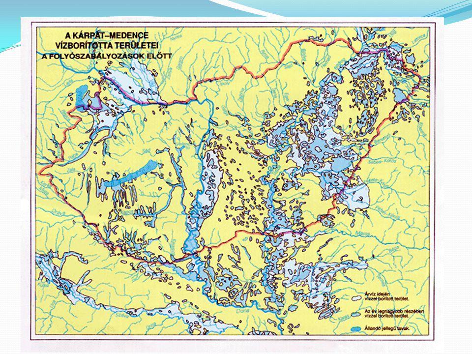 a) erdős hegyvidékek (erdő-térszín) b) állandóan, vagy időszakosan vízzel borított síkság (folyó-térszín) c) megtelepedésre kedvező síkság és dombvidék (település-térszín) RÓMAI PROVINCIÁK A KÁRPÁT-MEDENCÉBEN