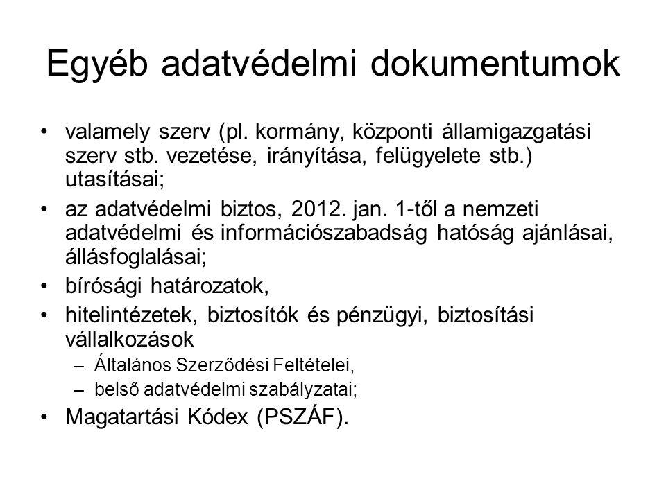 Központi hitelinformációs rendszer Előélet I.Pit (1991.