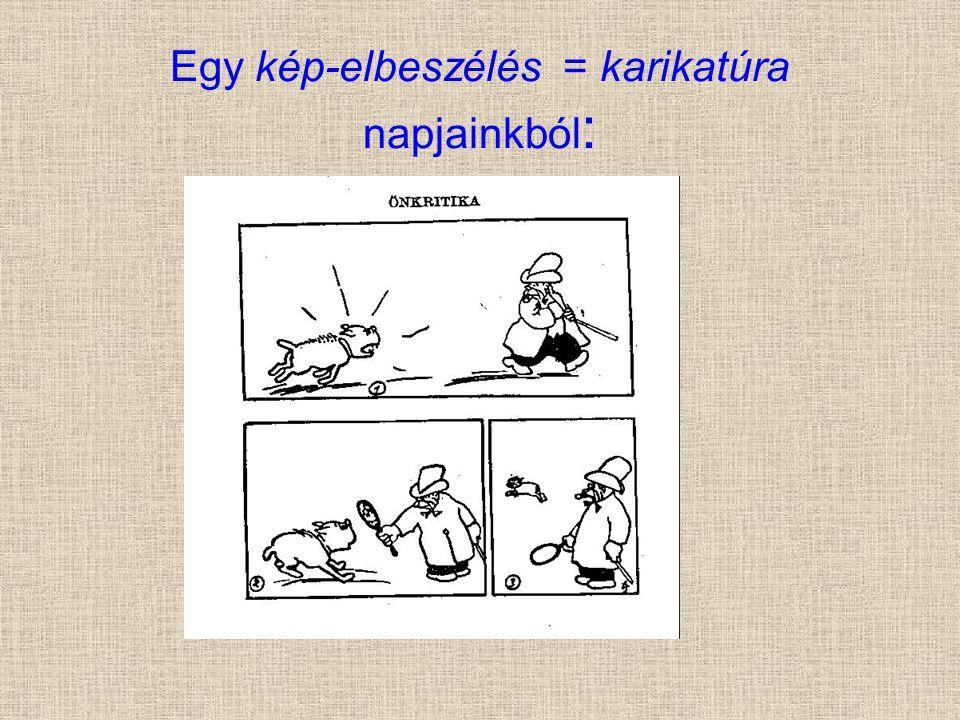 Egy kép-elbeszélés = karikatúra napjainkból :