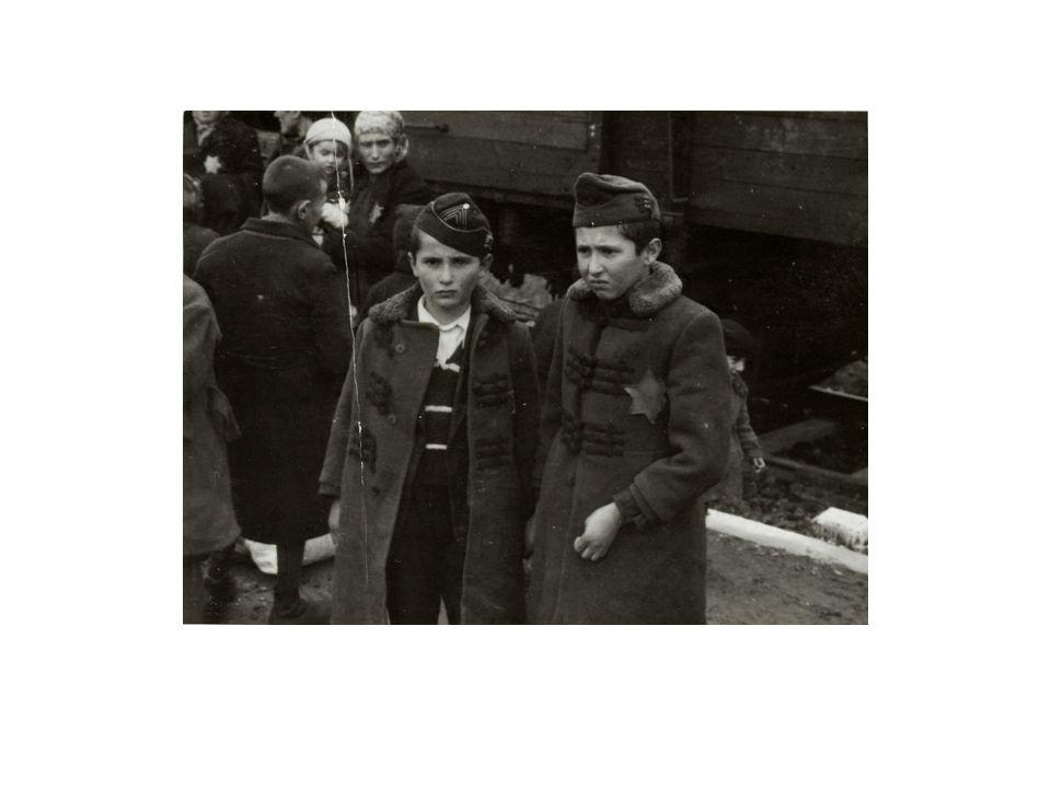 """Megérkezés """"A rámpa volt az Auschwitzba érkező vonatok végállomása."""