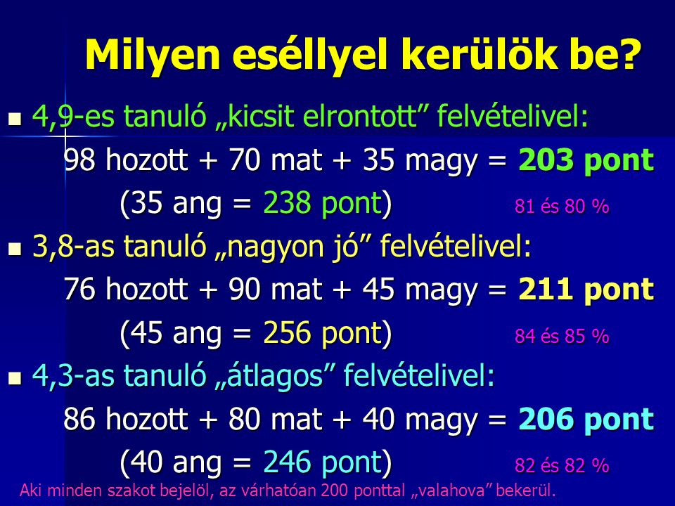 műszaki osztályok 9.évf.10. évf.11. évf.12. évf Magyar ny.