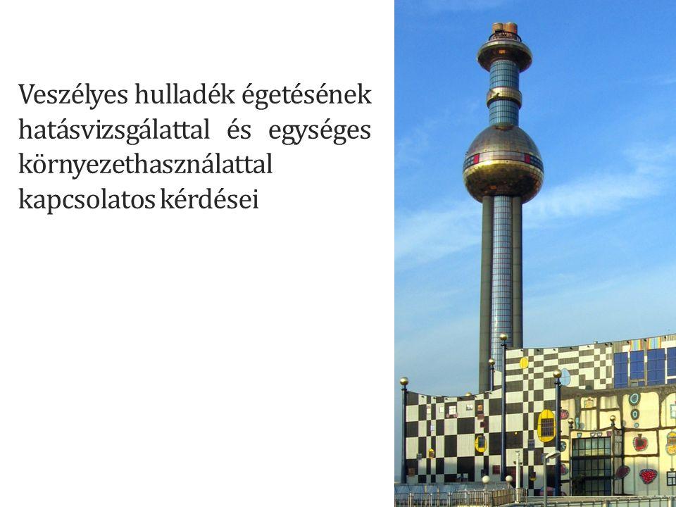 Valós jogi környezet EU szint: 1999/31 EK Hulladék keretirányelv 2008/1/EK a környezetszennyezés integrált megelőzéséről és csökkentéséről szóló európai parlamenti és tanácsi irányelv Magyar szint: 2012.