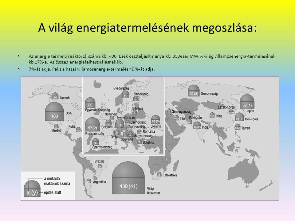 A környezetei hatások Folyamatos radioaktívanyag-kibocsátás → mértéke rendkívül kicsi.