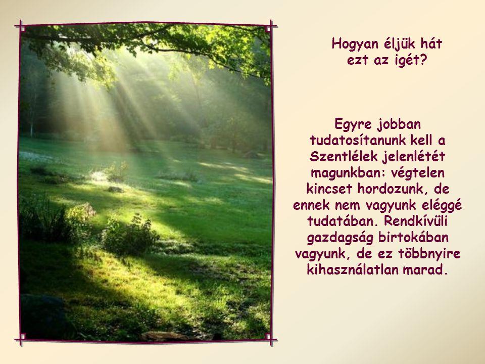 """Akiket Isten Lelke vezérel, azok Isten fiai."