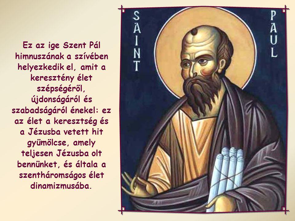 """""""Akiket Isten Lelke vezérel, azok Isten fiai."""" (Róm 8,14)."""