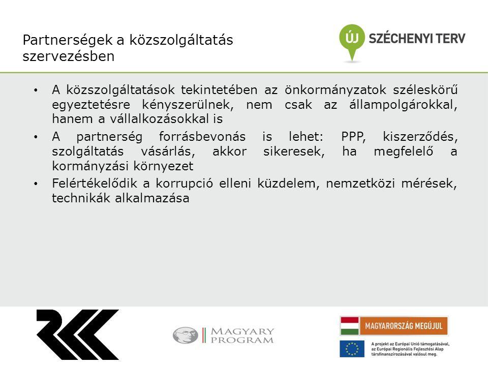 A közszolgáltatások tekintetében az önkormányzatok széleskörű egyeztetésre kényszerülnek, nem csak az állampolgárokkal, hanem a vállalkozásokkal is A